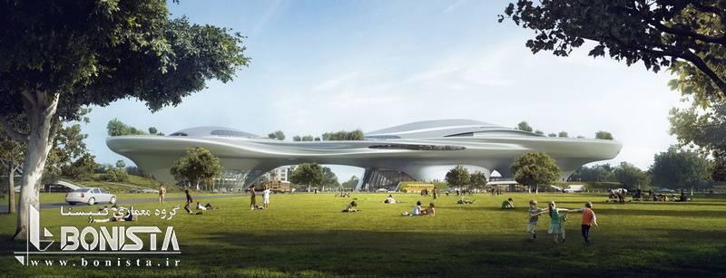 طرح تایید شده استادیو معماری MAD جهت ساخت موزه در لس آنجلس