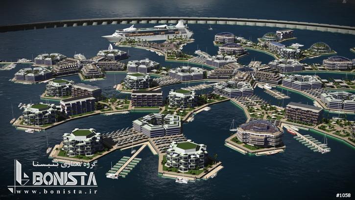 نخستین شهر شناور جهان