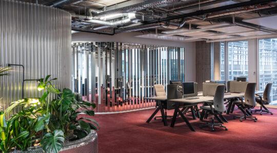 طراحی داخلی شرکت موسقی